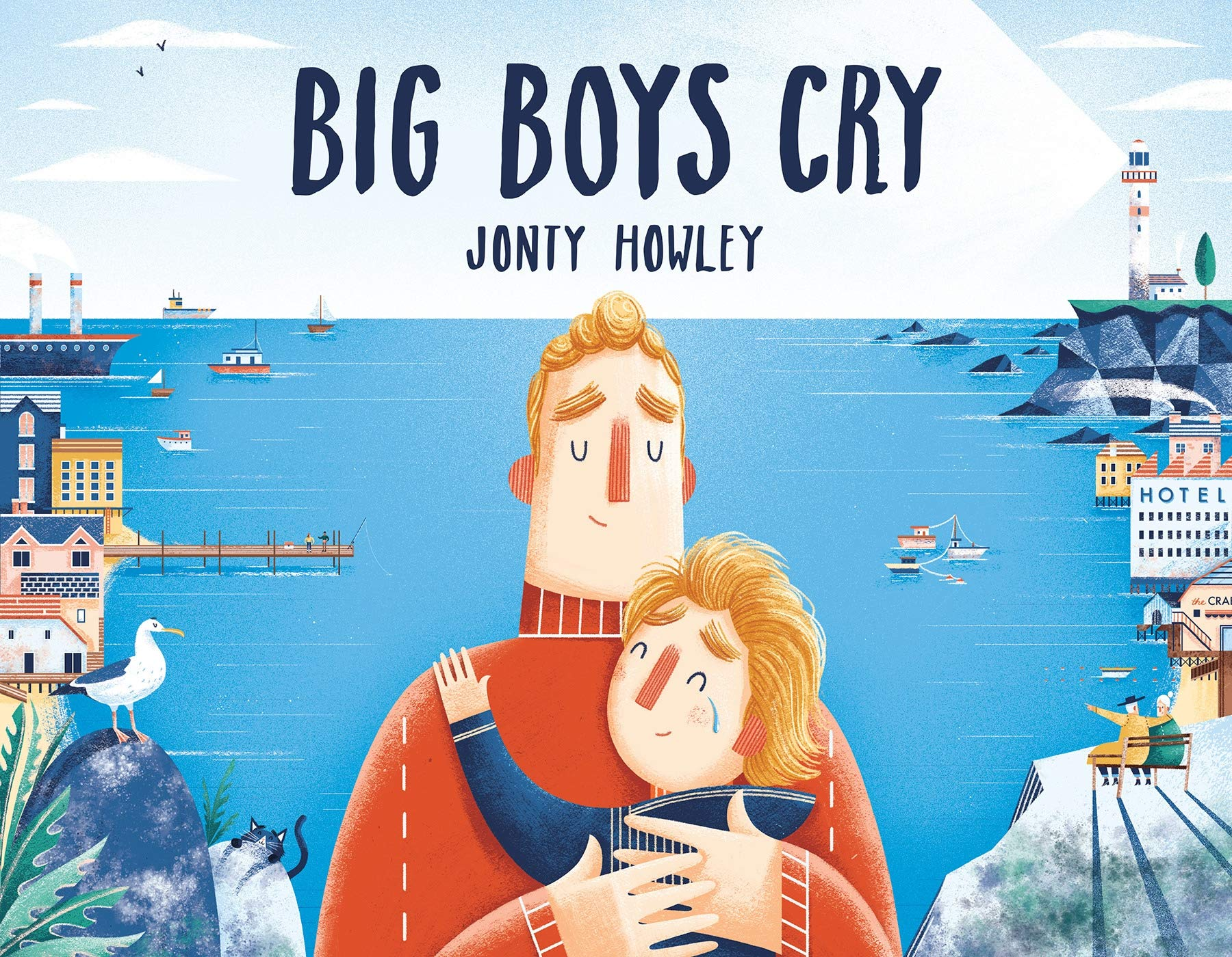 Big Boys Cry: Howley, Jonty: 9781524773205: Amazon.com: Books