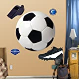 FATHEAD Assorted Soccer Graphics Graphic Wall Décor