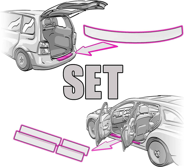 Seat Alhambra Ii Ladekantenschutz Einstiegsleisten Set Rakel Anleitung 2 In Transparent Folie Passend Für Seat Alhambra Ii 2 Schutzfolie Von Ccw Auto