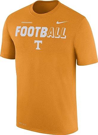 Nike Camiseta de fútbol Tennessee Voluntarios de Tennessee Naranja diseño Leyenda Camiseta: Amazon.es: Deportes y aire libre