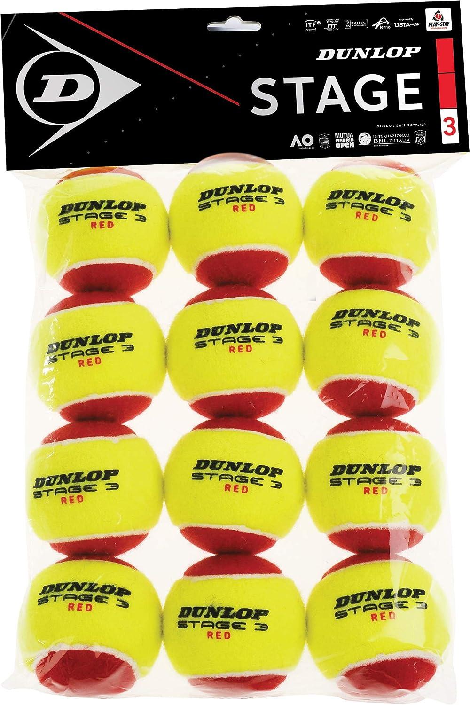 Dunlop Mini Tennis Balls Red -DS