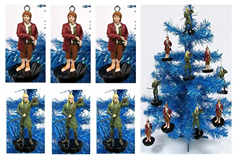 Lord Of The Rings Christmas Ornaments.Lord Of The Rings The Hobbit Holiday Christmas Ornament Set Unique Shatterproof Plastic Design