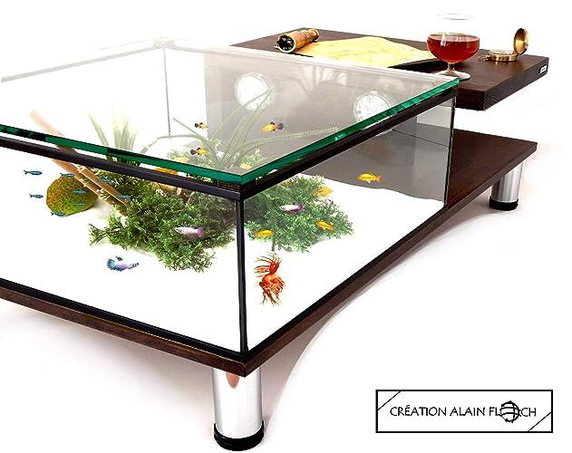 Table Basse Plateau Relevable Creation Originale Et Moderne