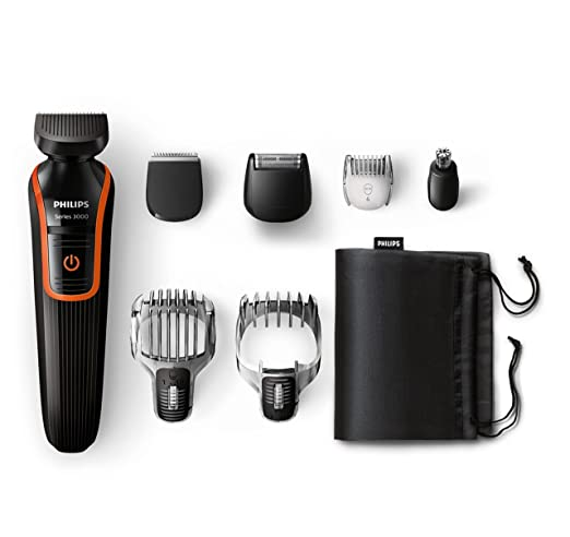 771 opinioni per Philips QG3341/16 Rifinitore per Capelli e Barba All-In-One, Impermeabile, Nero