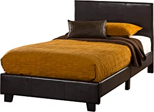 Hillsdale Furniture Springfield Complete Bed Set, Twin, Brown