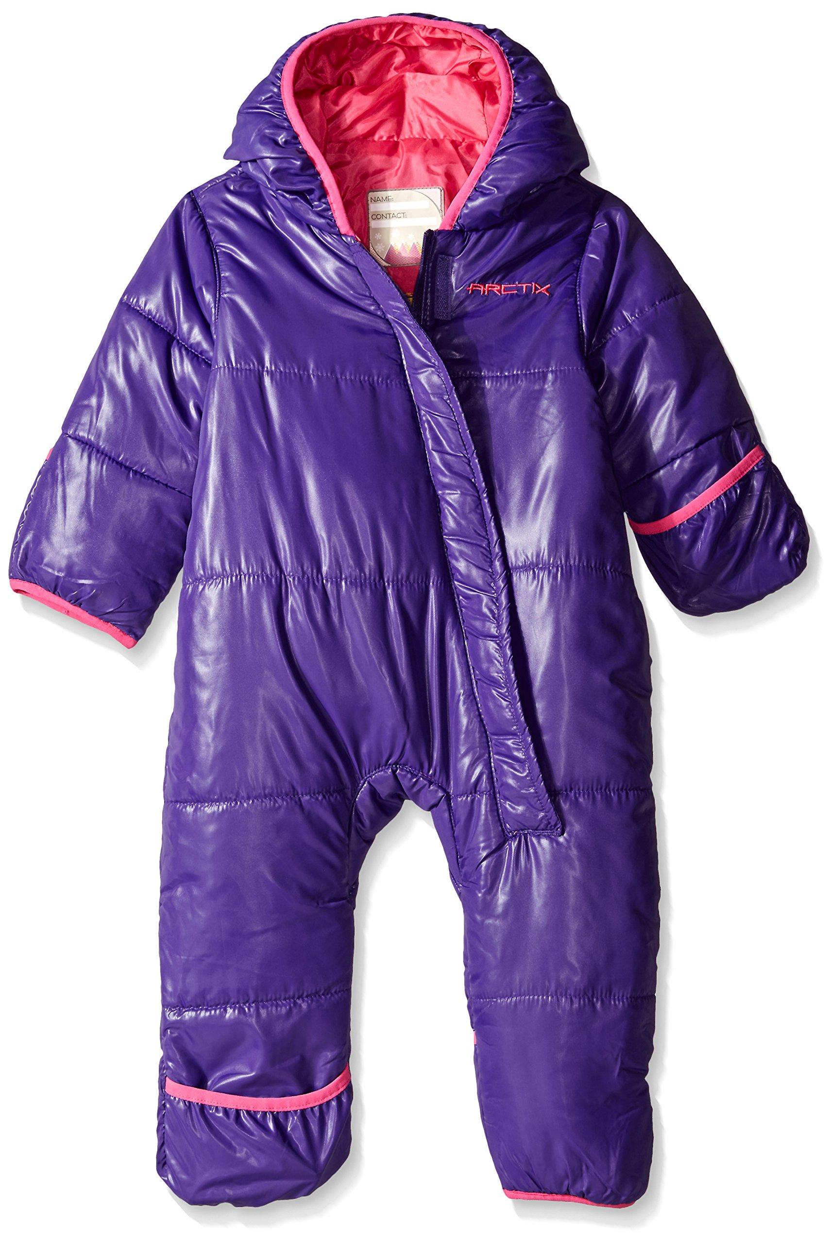 Arctix Infant Bunting Snow Suit, Purple, 12-18 Months by Arctix