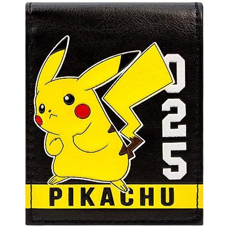 Cartera de Pokemon Pikachu 025 Raya Blanca Amarillo
