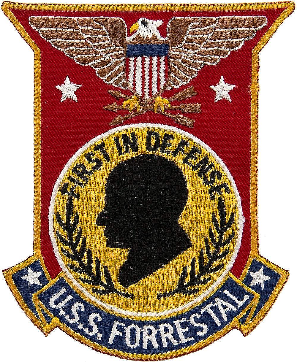 USS Forrestal Patch Full Color