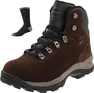 Men's Altitude IV WP Hiking BootDark Chocolate with Pair of Lifetime Warranty Socks