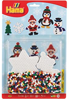 Christmas Hama Bead Designs.Hama Beads Christmas Set Amazon Co Uk Toys Games