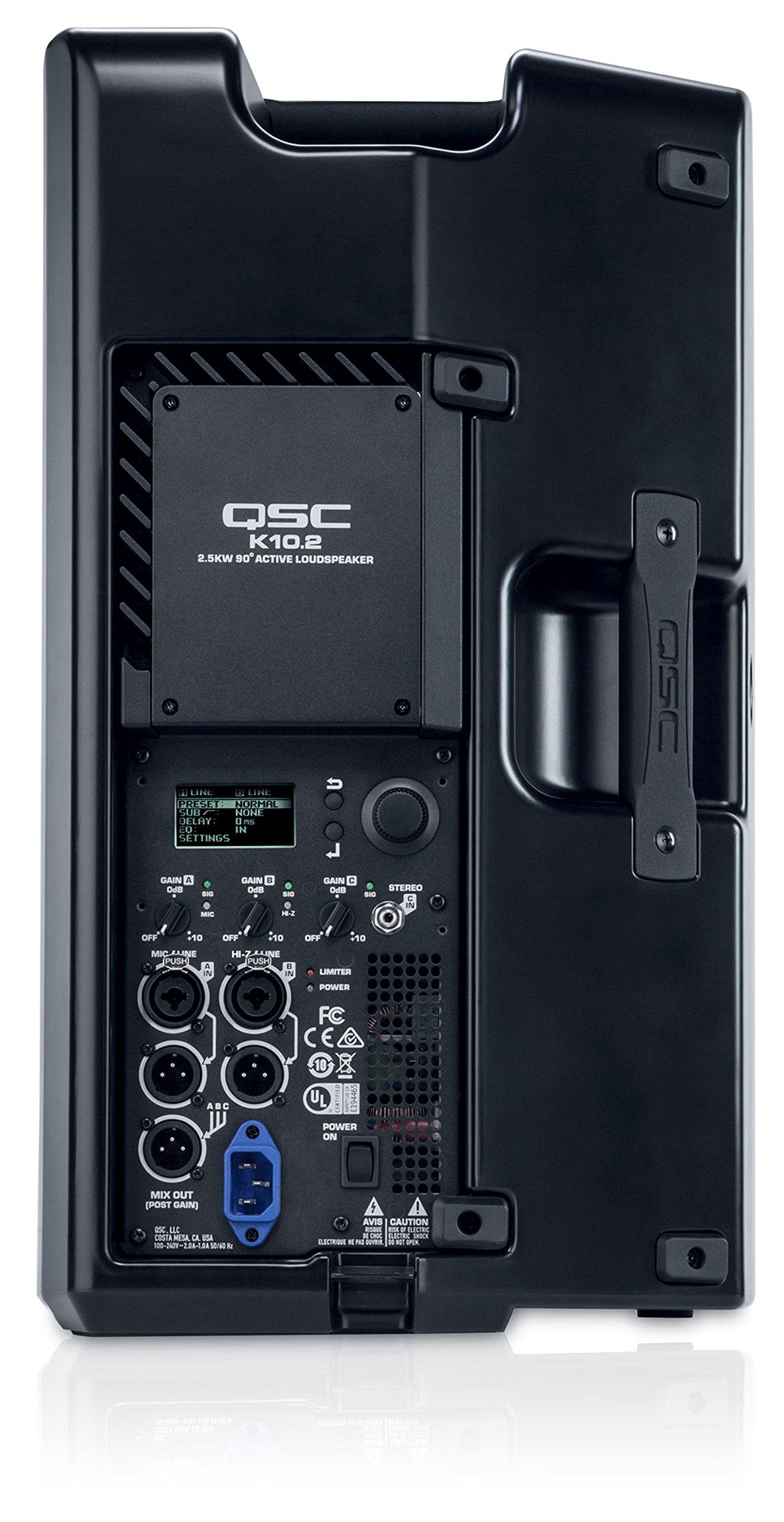 QSC K10.2 Active 10'' Powered 2000 Watt Loudspeaker by QSC (Image #4)