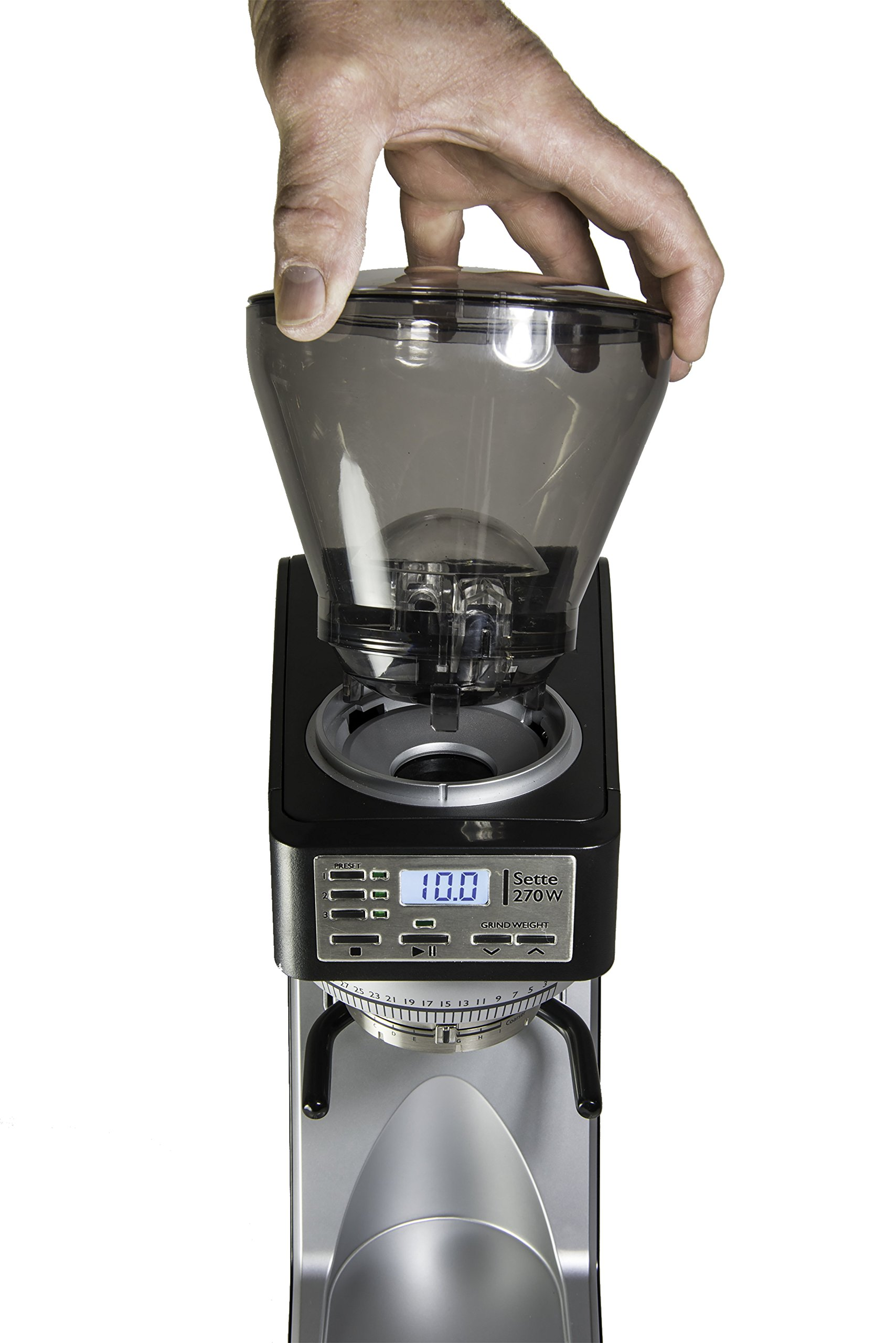 Baratza Sette 270W - Conical Burr (with Grounds Bin and built-in PortaHolder) by Baratza (Image #4)