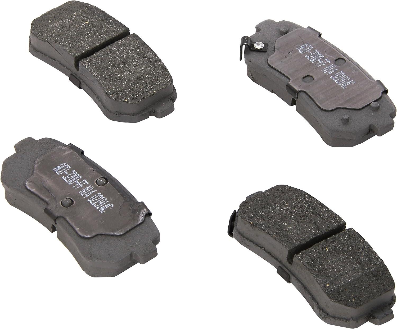 ACDelco 14D1569CH Advantage Ceramic Rear Disc Brake Pad Set