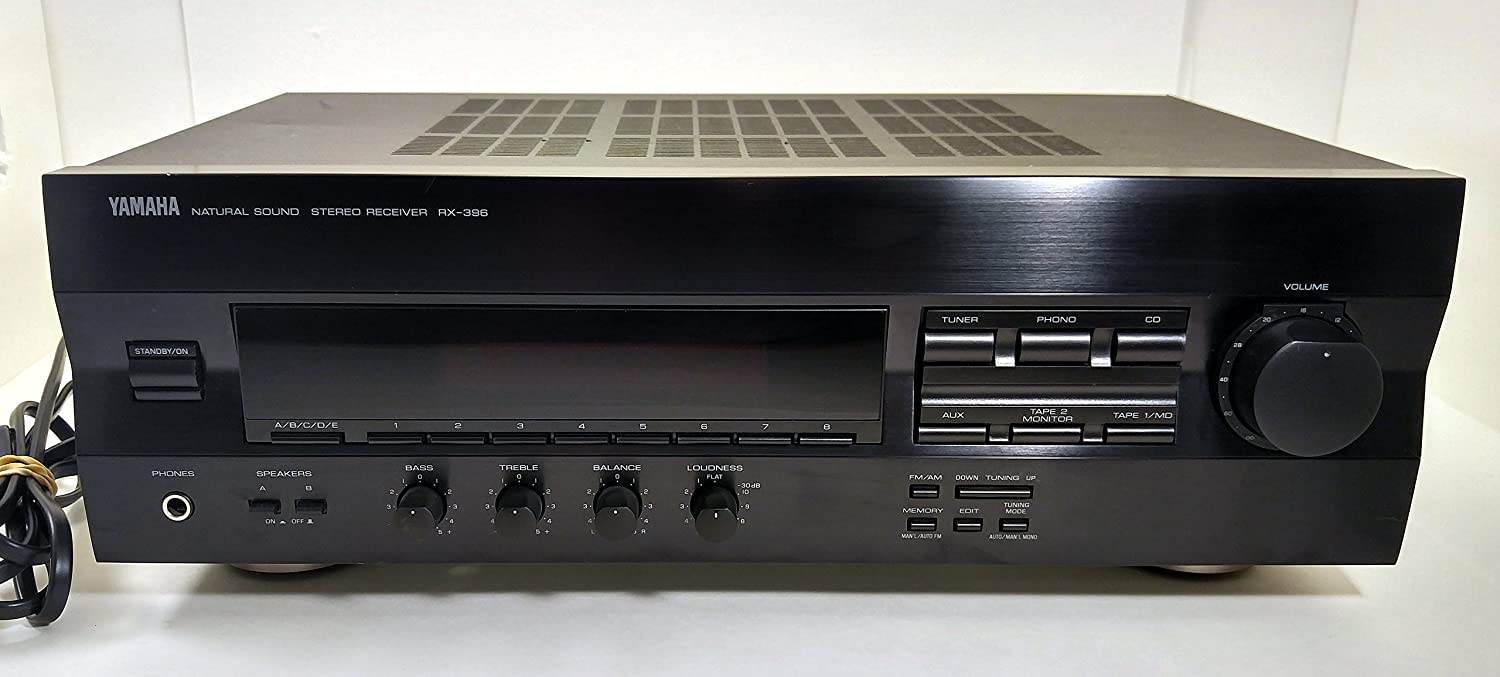 YAMAHA RX-396 Natural Sound AM/FM Stereo Receiver Component