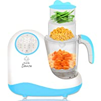 Baby Food Maker Chopper Grinder - Mills and Steamer 8 in 1 Processor for Toddlers - Steam, Blend, Chop, Disinfect, Clean…