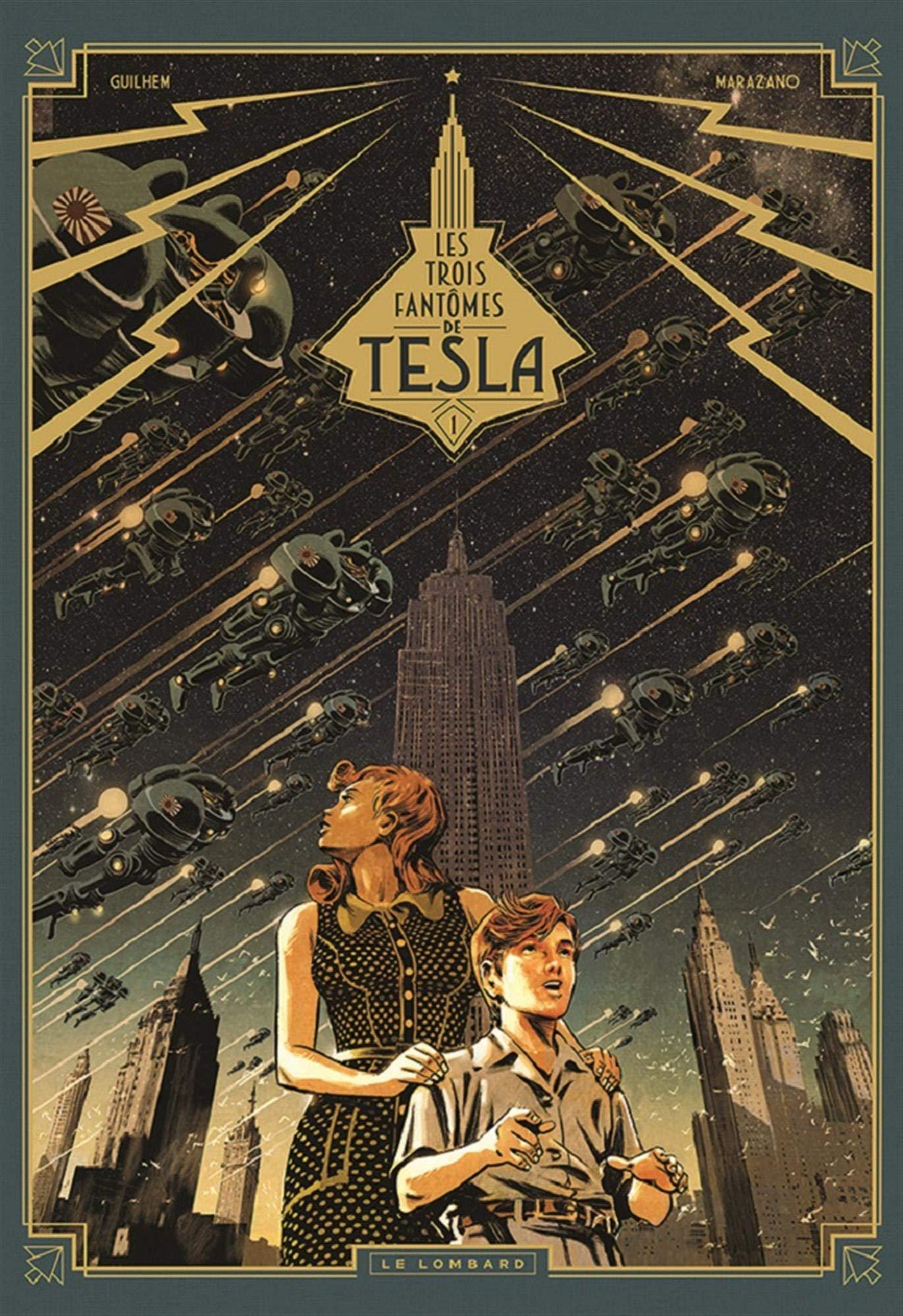Amazon.fr - Les Trois fantômes de Tesla - tome 1 - Le Mystère ...