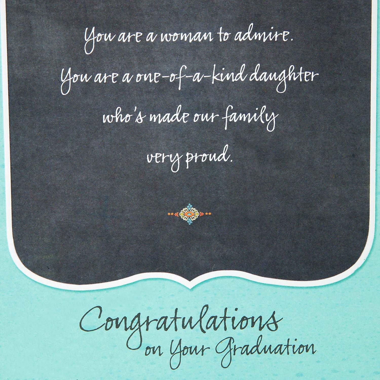Amazon Hallmark Graduation Greeting Card For Daughter