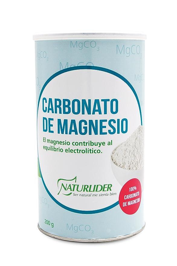 Naturlider Vitanutrients Carbonato de Magnesio - 200 gr: Amazon.es: Salud y cuidado personal
