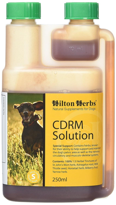 Hilton Herbs CDRM Solution 250 ml Flacon Complément Alimentaire Chien Locomotion et Troubles Neurologiques 90372