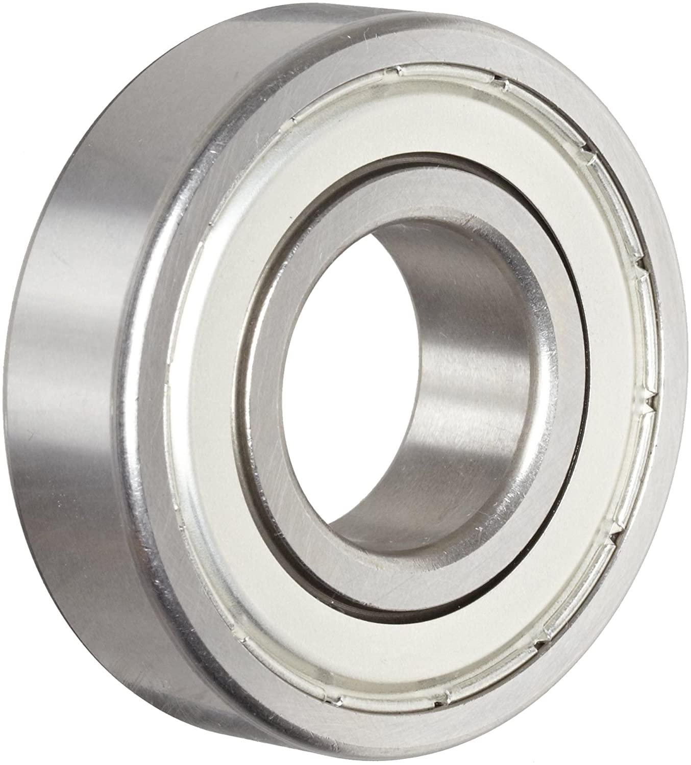 Nice Ball Bearing 1640DS Double Shielded, 52100 Bearing Quality Steel, 0.8750' Bore x 2.0000' OD x 0.5625' Width 0.8750 Bore x 2.0000 OD x 0.5625 Width RBC Bearings