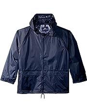 Portwest US440NAR5XL Regular Fit Classic Rain Jacket, 5X-Large, Navy