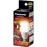 パナソニック LED電球 口金直径17mm 電球60W形相当 電球色相当(6.4W) 一般電球・T形タイプ 密閉器具対応 LDT6LGE17ST6