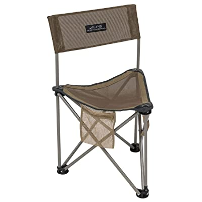 ALPS Mountaineering Grand Rapids Chair/Stool, Brown (8135014): Sports & Outdoors