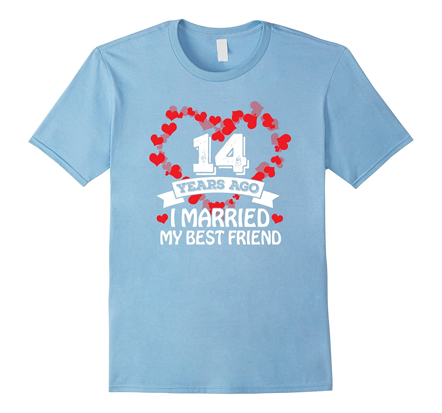 14th wedding anniversary gift ideas husband and wife t shir pl