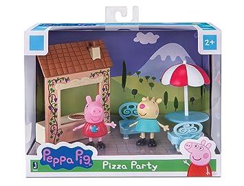 Juegos Figure esPeppa Amazon Y Pig Pizza Party PlaysetJuguetes tdshQr