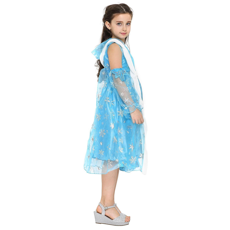 Katara - Il Vestito Festivo di Principessa Elsa Frozen f6e8189ffbd