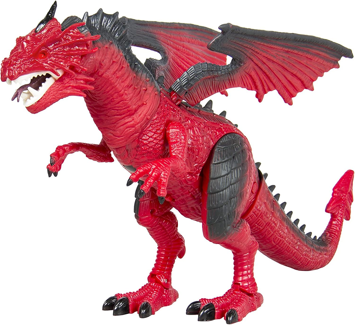 Amazon Com Dragon Kids Toy Walking Dinosaur T Rex Toy With Real