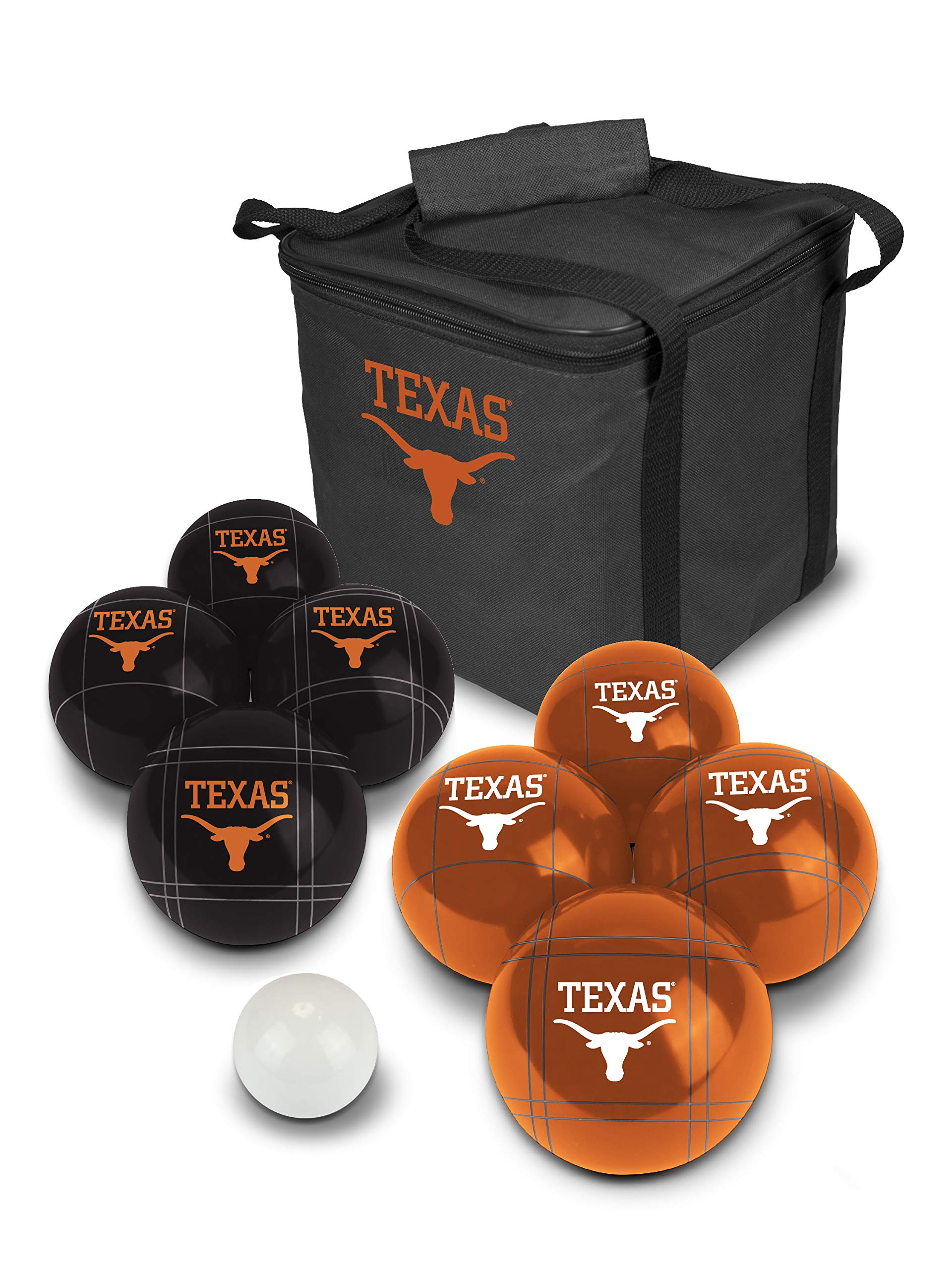 PROLINE NCAA College Texas Longhorns Bocce Ball Set by PROLINE