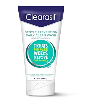 Clearasil Daily Clear Hydra Blast Gently Exfoliate Scrub - 5 Oz, 3 Pack Suki exfoliate foaming cleanser, 4 FL Oz