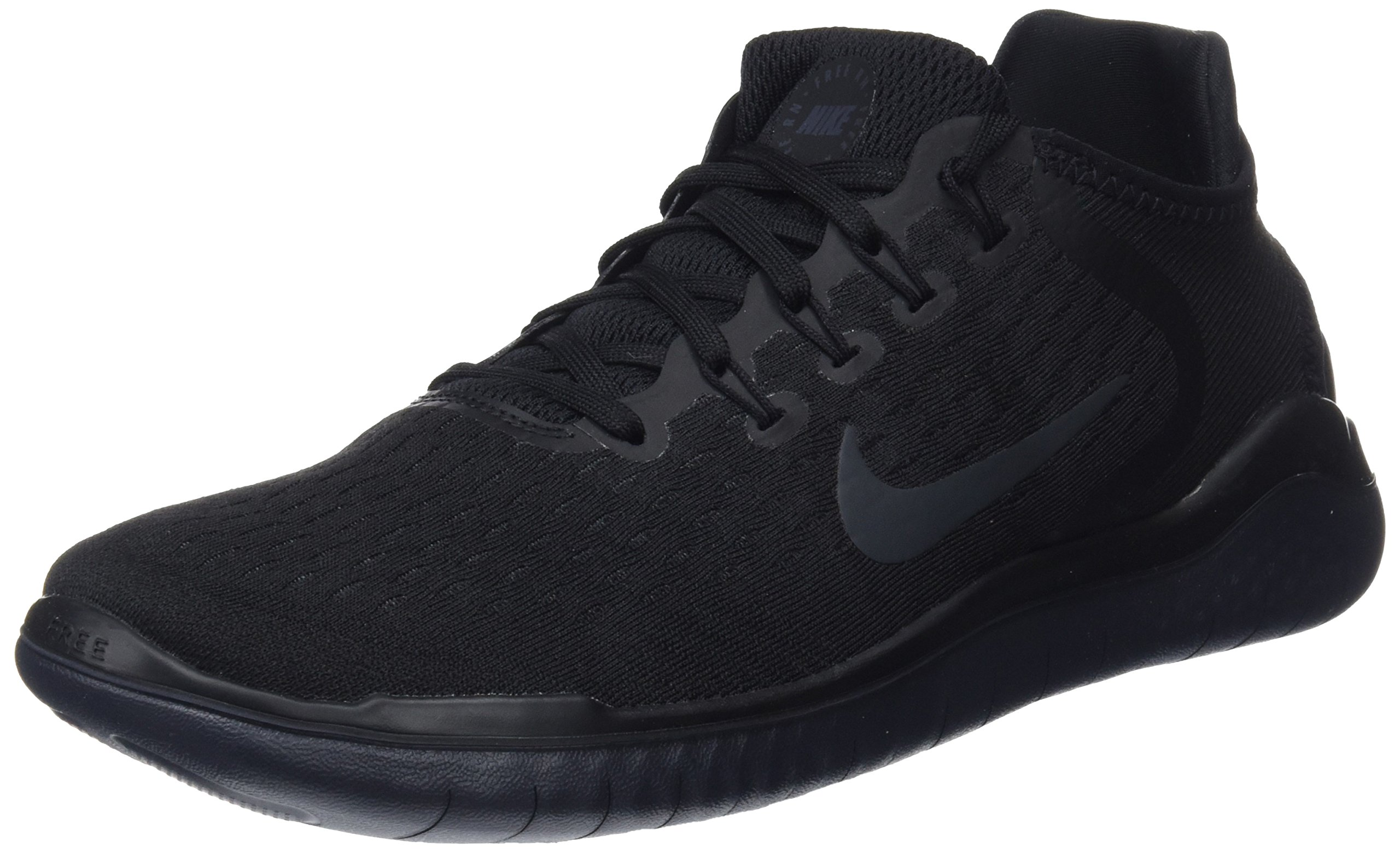 9ac5825626c78 Galleon - NIKE Mens Free-RN 2018 Running Sneakers Black Anthracite (15 D(M)  US)