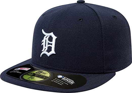 cc56621baf0 Detroit Tigers 59Fifty Authentic Fitted Performance Home MLB Baseball Cap   Amazon.ca  Sports   Outdoors