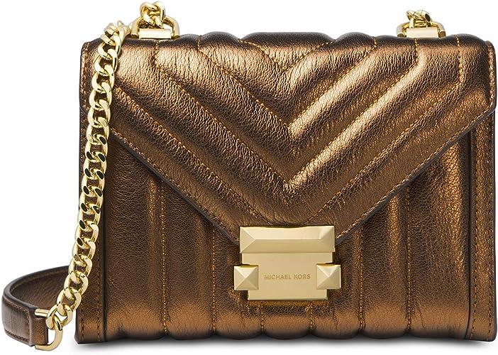 MICHAEL Michael Kors Whitney Mini sac à bandoulière en cuir