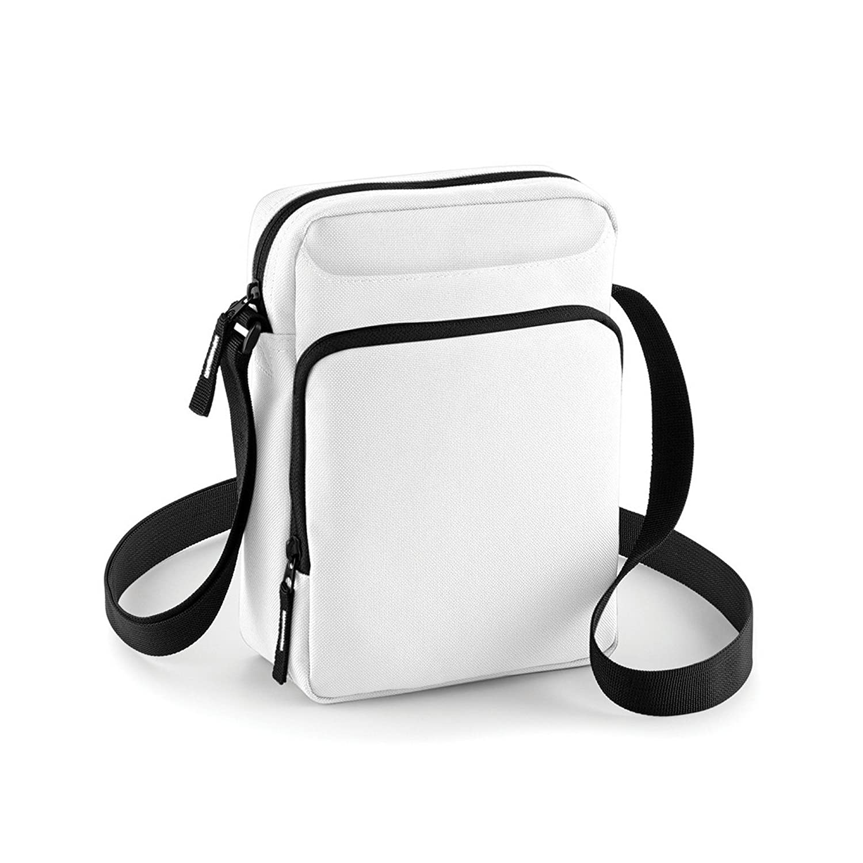 Bagbase Across Shoulder Strap Cross Body Bag Black) UTBC3670_1