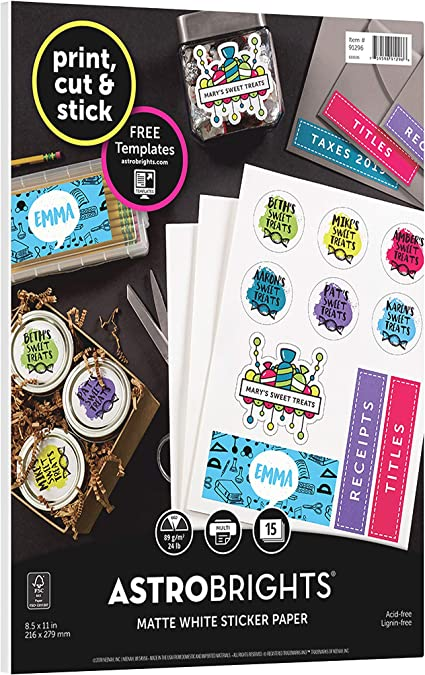 Planner stickers Words And Icons Band Rehearsal Competition and Camp WI0319 Matte Sticker Paper, All Black Stickers