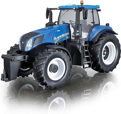 Tavitoys, 1/16 Farm Tractor, Not Incl. Batt. Azul (82026), Color (1)