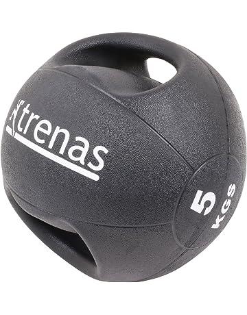 TRENAS PRO Balón medicinal con asas – 5 kg 9ae8932db764e