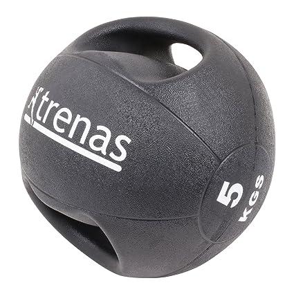 trenas Pro Balón Medicinal con Asas - 5 kg: Amazon.es: Deportes y ...