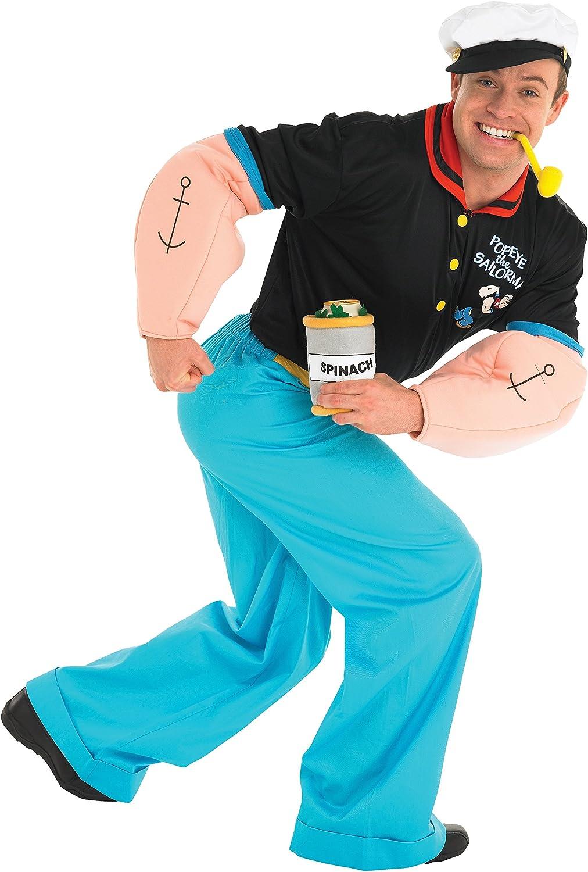Rubies - Disfraz Popeye de hombre a partir de 16 años (889039XL ...