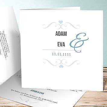Hochzeitseinladung Selber Gestalten Traupost 100 Karten