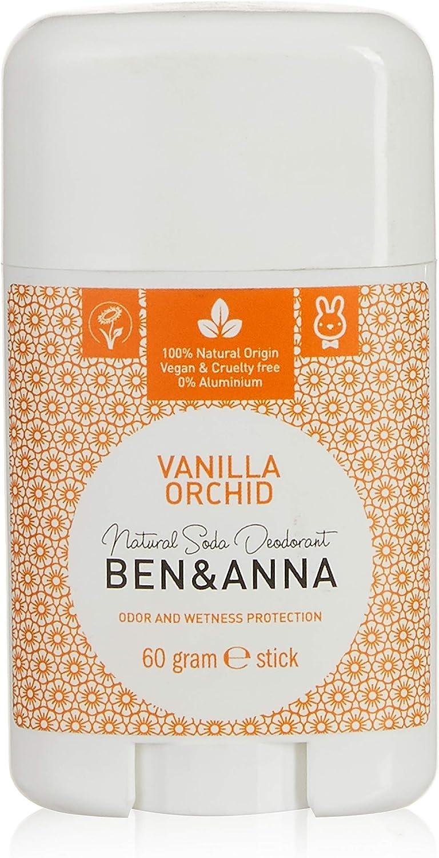 Ben & Anna Soda Desodorante Natural, vainilla orquídea: Amazon.es ...