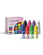 GoodBake Lebensmittelfarbe, 8 Farben Set, hochkonzentriert & zuckerfrei, Happy Drop System - 8 x 11ml auch für Slime