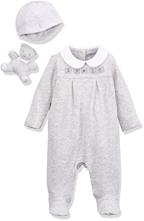 Polo Ralph Lauren Heathered Interlock-Neutral GFT-AC-GBX Gift Box Set, Pelele Unisex bebé: Amazon.es: Ropa y accesorios