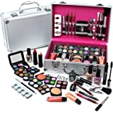 Urban beauty–Vanity case Cosmetic make up Urban beauty box Travel Carry Gift Storage 60Piece
