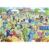 """Big 500 Piece Jigsaw Puzzle - Summer Fete - """"NEW JULY 2016"""""""