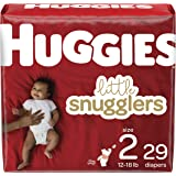 Diapers Size 2 - Huggies Little Snugglers Disposable Baby Diapers, 29ct, Jumbo Pack