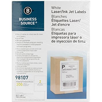 Amazon.com : Business Source Bright White Premium-Quality ...